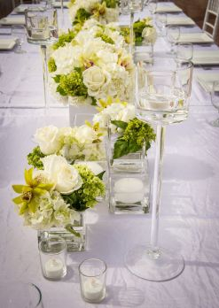 22108483 - a beautifully decorated wedding table